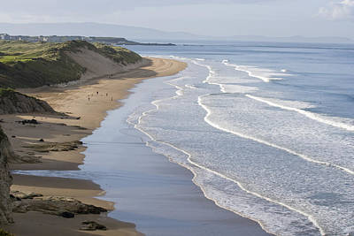 Portrush Photograph - Whiterocks Beach From Dunluce Road by Rich Reid