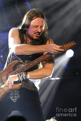 Whitesnake Guitarist Reb Beach Print by Front Row Photographs