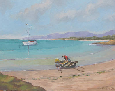 Painting - Whitsunday Sailors by Murray McLeod