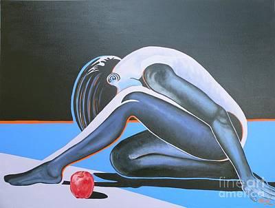 Artist Christine Belt Painting - Unto You Do I Cry, O Lord My Rock by Christine Belt