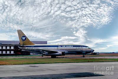 Fixed Wing Multi Engine Photograph - Wien Air Alaska Boeing 737, N4907 by Wernher Krutein