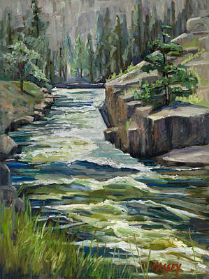 Wild And Free, Plein Air Print by Marie Massey