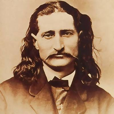 Wild Bill Hickok Print by Dan Sproul