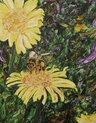 Wild Daisy Print by Bonnie Peacher