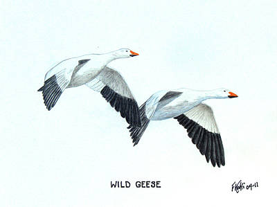 Wild Geese Print by Frederic Kohli