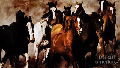 Wild Horses 01 Original by Gull G