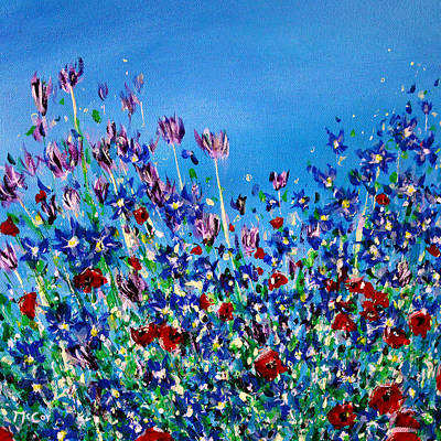 Painting - Wild Meadow Flowers by K McCoy
