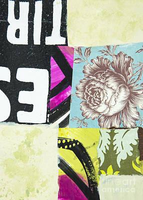 Mixed Media - Wild Rose by Elena Nosyreva