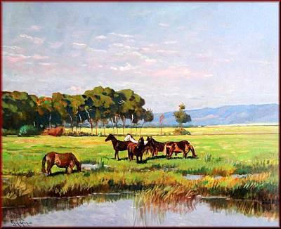 Het Painting - Wild Tuscany by Vaccaro