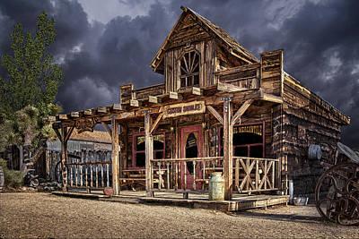 Old Milk Jugs Photograph - Wild Wild West by Janet Ballard