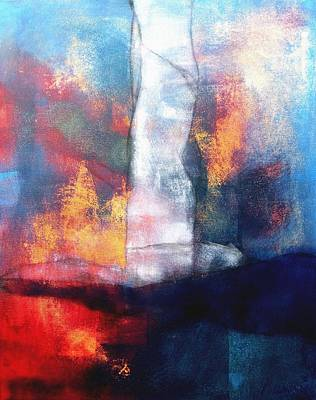 Wildfire Painting - Wildfire by Louise Adams