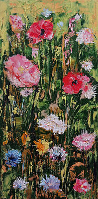 Wildflowers Print by Michael Creese