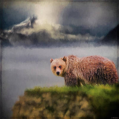 Wildlife Art - The Call Of The Wild Print by Jordan Blackstone