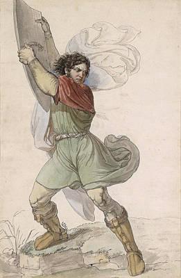 Drawing - Wilhelm Tell by Moritz Michael Daffinger