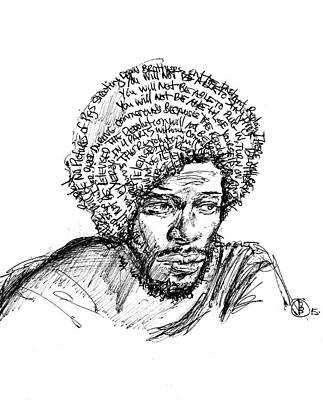 Projects Drawing - Will Not Be Televised by Howard Barry
