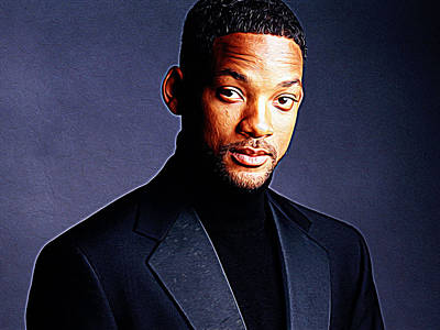 I Am Legend Painting - Will Smith by Iguanna Espinosa