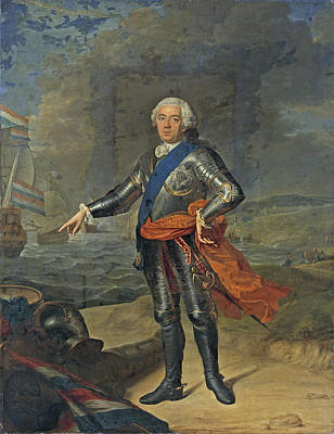 Jacques Aved Painting - Willem Iv Prince Of Orange-nassau 2 by Jacques-Andre-Joseph Aved