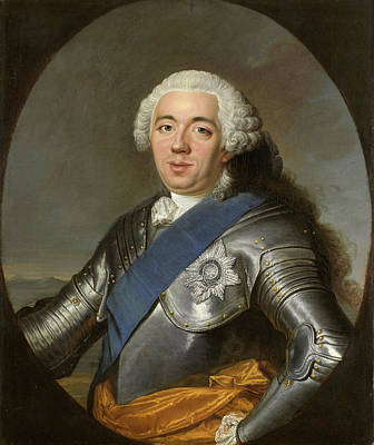 Jacques Aved Painting - Willem Iv Prince Of Orange-nassau by Jacques-Andre-Joseph Aved