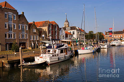 Willemstad Print by Louise Heusinkveld