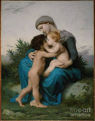 William-adolphe 1825-1905 Painting - William Adolphe Bouguereau by MotionAge Designs