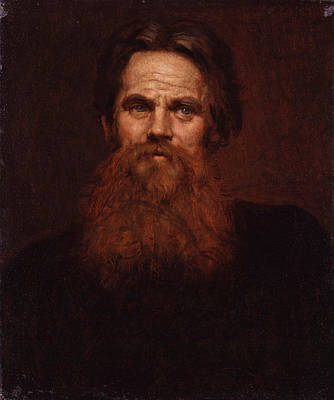 William Holman Hunt Painting - William Holman Hunt by William Blake Richmond