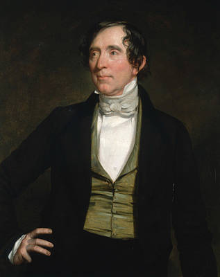 American Politician Painting - William C. Preston by George Peter Alexander Healy