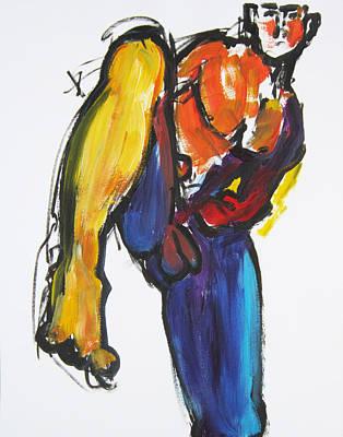 William Flynn Kick Print by Shungaboy X