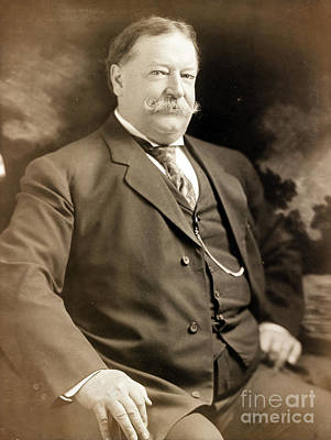 Chief Justice Photograph - William Howard Taft, 42nd Secretary by Science Source