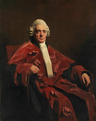 Henry Raeburn Painting - William Robertson. Lord Robertson by Henry Raeburn