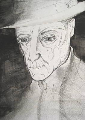 William S. Burroughs Print by Darkest Artist
