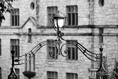 Williams Photograph - Williams College Hopkins Gate Detail by University Icons