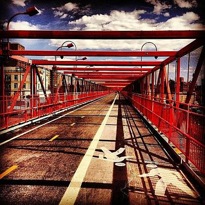 Landscapes Photograph - Williamsburg Bridge - New York City by Vivienne Gucwa