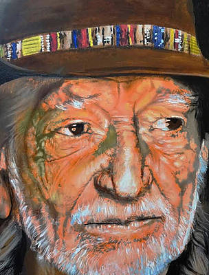 Willie Nelson Original by Abe Cano