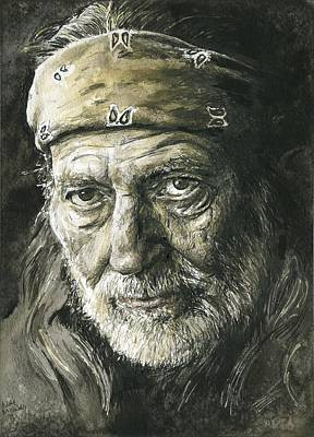 Willie Nelson Original by Nate Michaels