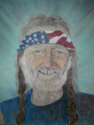 Willie Nelson Original by Robert Rombeiro