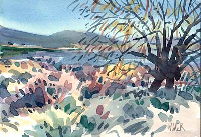 Vines Painting - Willow In Spring by Donald Maier