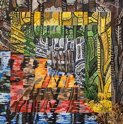 Willow Lake Painting - Willow Lake by Micah Mullen