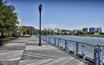 Riverwalk Photograph - Wilmington Riverwalk - Delaware by Brendan Reals
