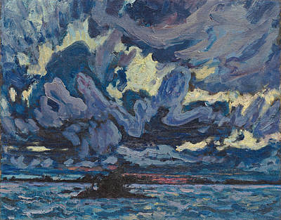 Painting - Wind Clouds by James Edward Hervey MacDonald