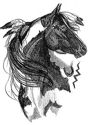 Wind Song Print by Paula Hammond