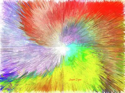 Abstractions Painting - Wind Vane by Leonardo Digenio