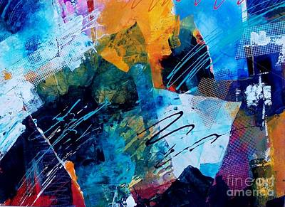 Wind Vibrations Print by Donna Frost