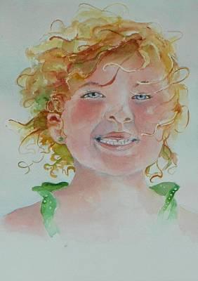 Windblown Painting - Windblown by Celene Terry
