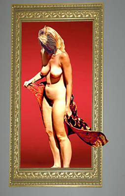 Fantasy Photograph - Windblown In Red by Broken  Soldier