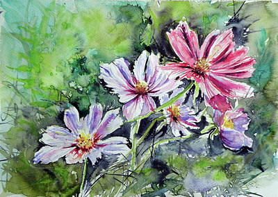 Windflower Print by Kovacs Anna Brigitta