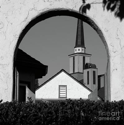 Window Arch Print by CML Brown
