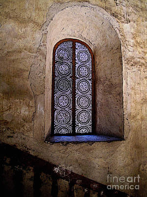 Window In Lace Print by Mexicolors Art Photography