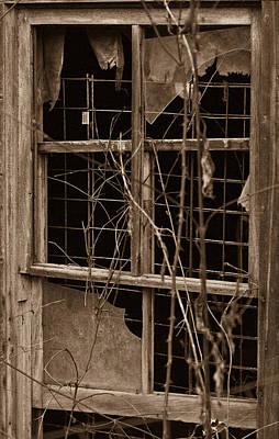 Window Of A Forgotten Mystery Print by Douglas Barnett