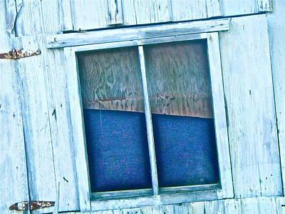 Window Of Secrets Original by Chuck Taylor