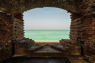 Window On The Gulf Print by Kristopher Schoenleber